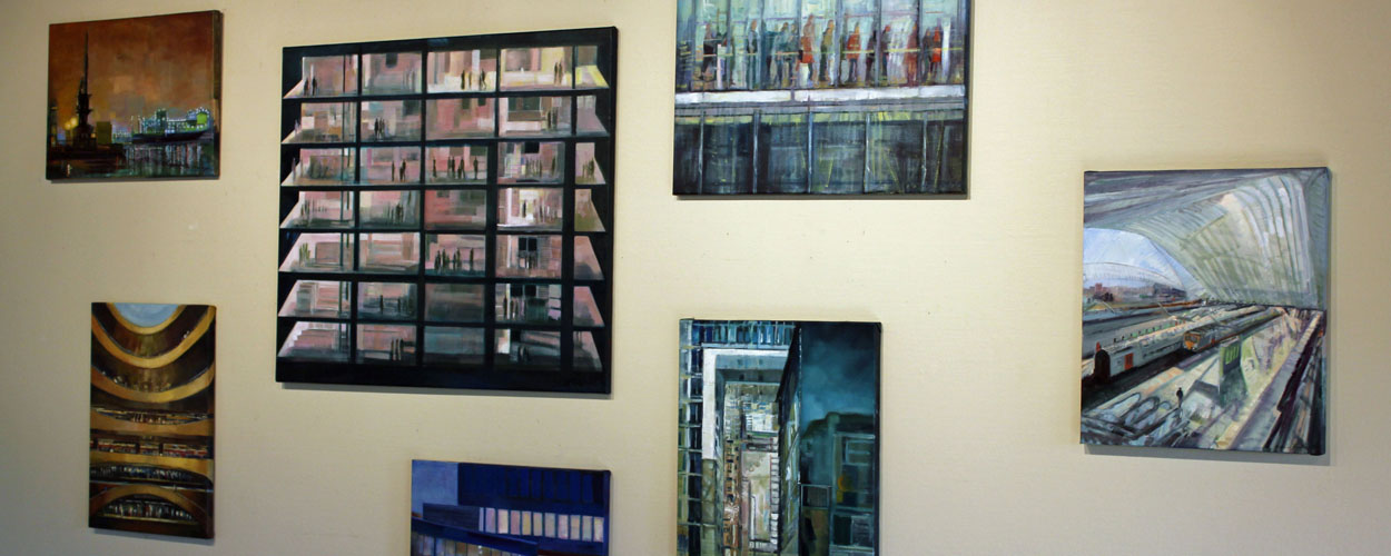 Solo expositie 2012 Galerie Lieve Lambert Merendree